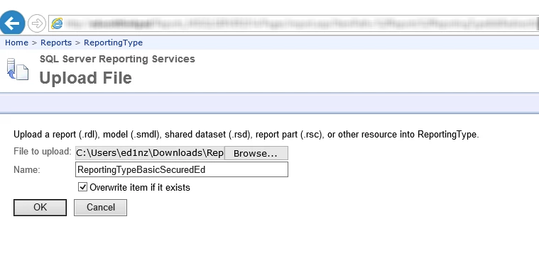 Configure a WRM Report to Use a Cached Data Set – Resolver Support
