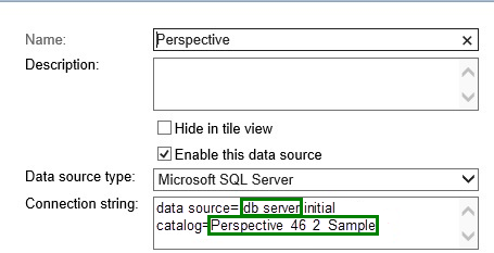 Troubleshooting Perspective & SQL Reporting Services